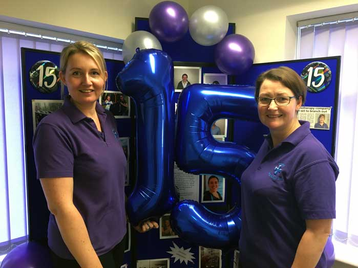 abbey-physiotherapy-in-nuneaton-15-years-old-celebration